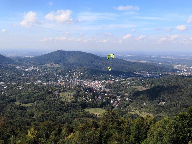 Baden-Baden vom Merkurberg aus
