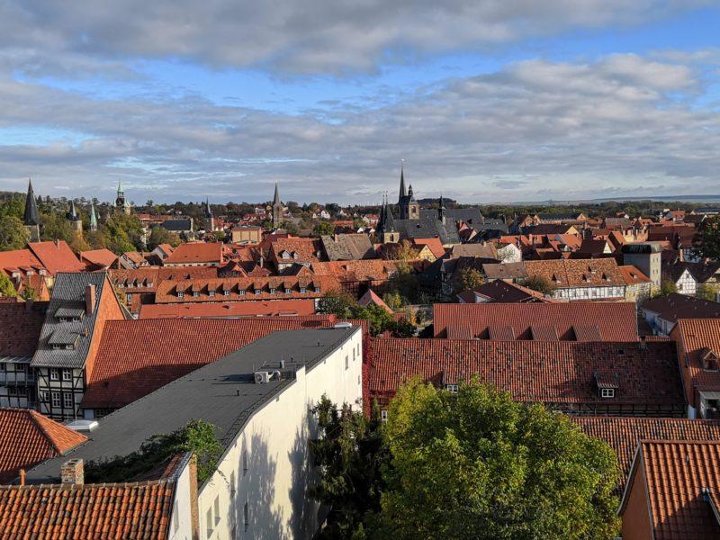 Quedlinburg, Blick vom Schlossberg