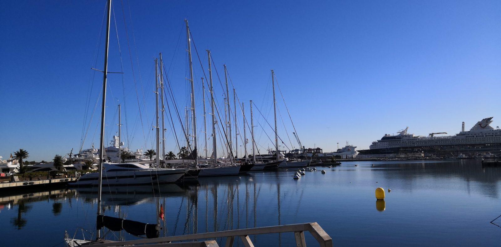 Marina in Valencia