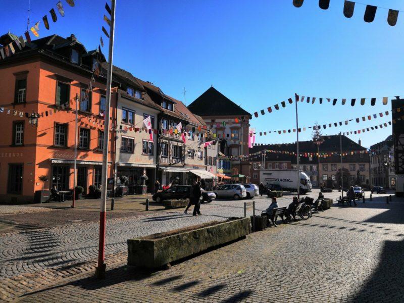 Marktplatz in Gengenbach