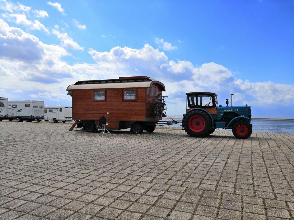 Eine ganz andere Art von Wohnmobil...