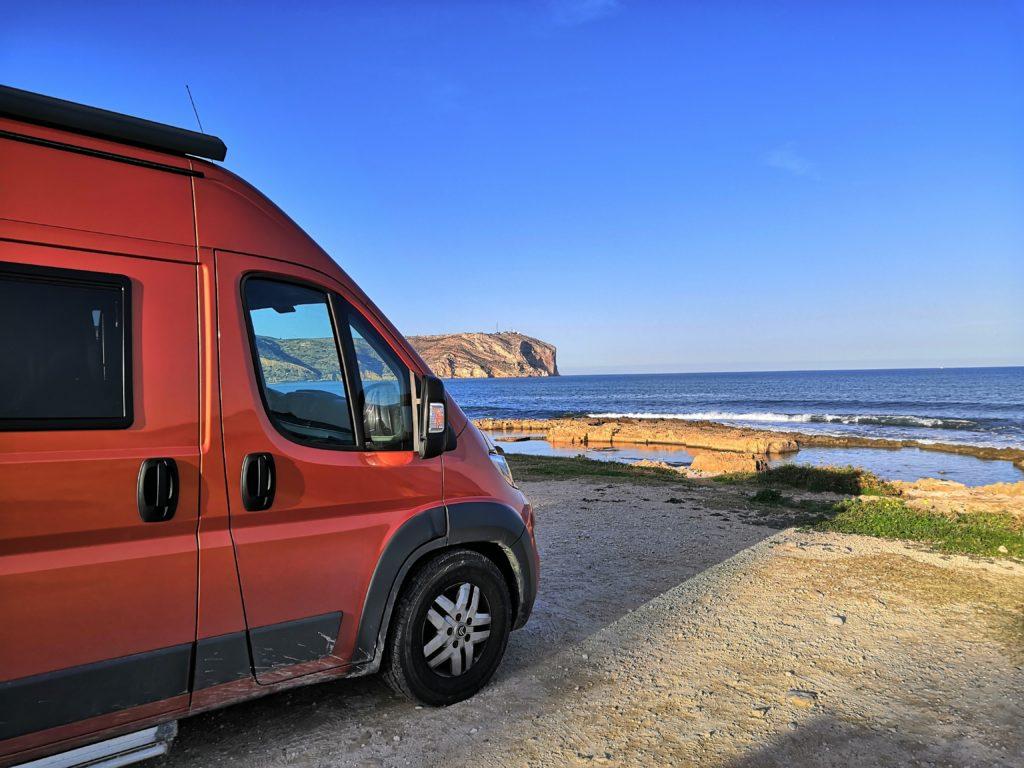 Perfekter Übernachtungsplatz in Xábia