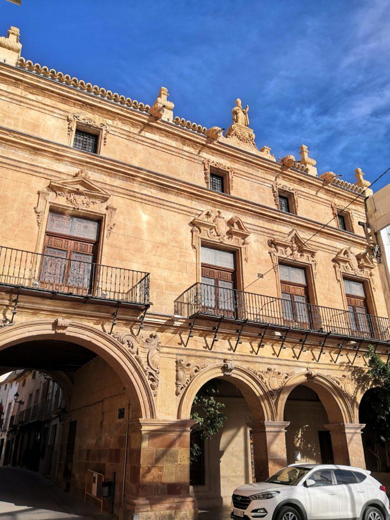 Palast in Lorca
