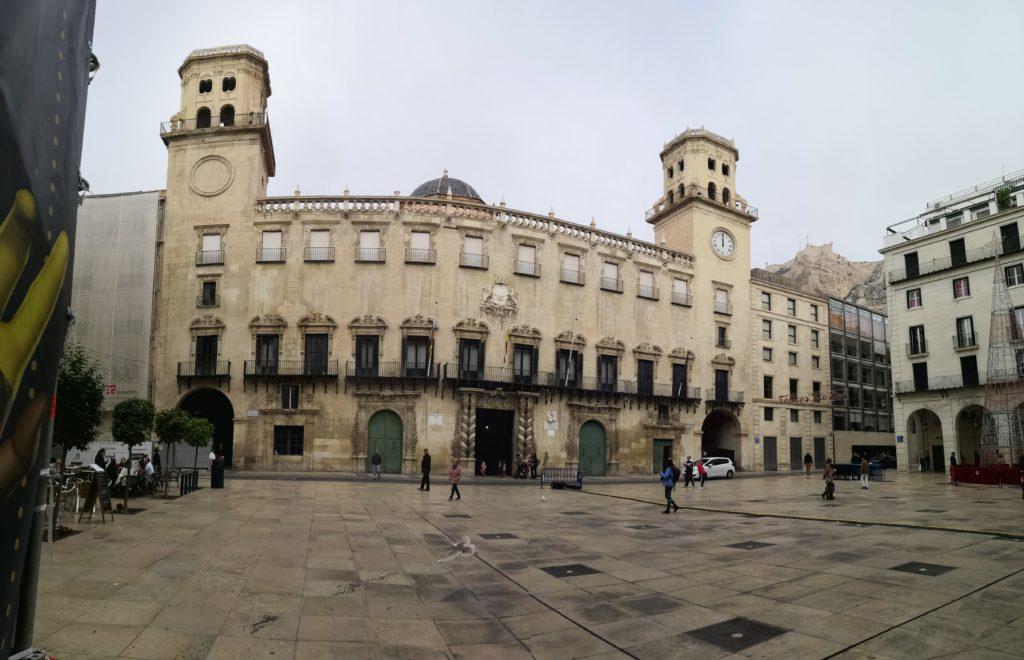 Ayuntamiento in Alicante
