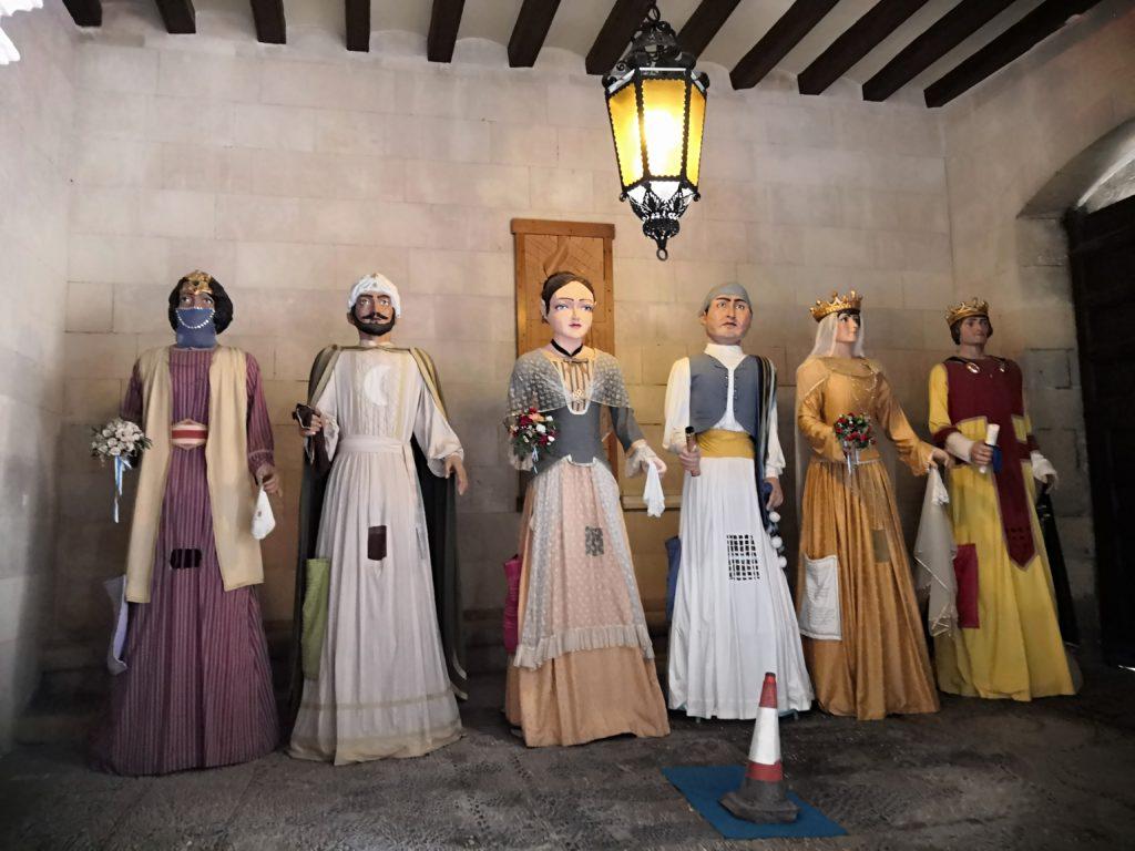 Figuren in Alicante