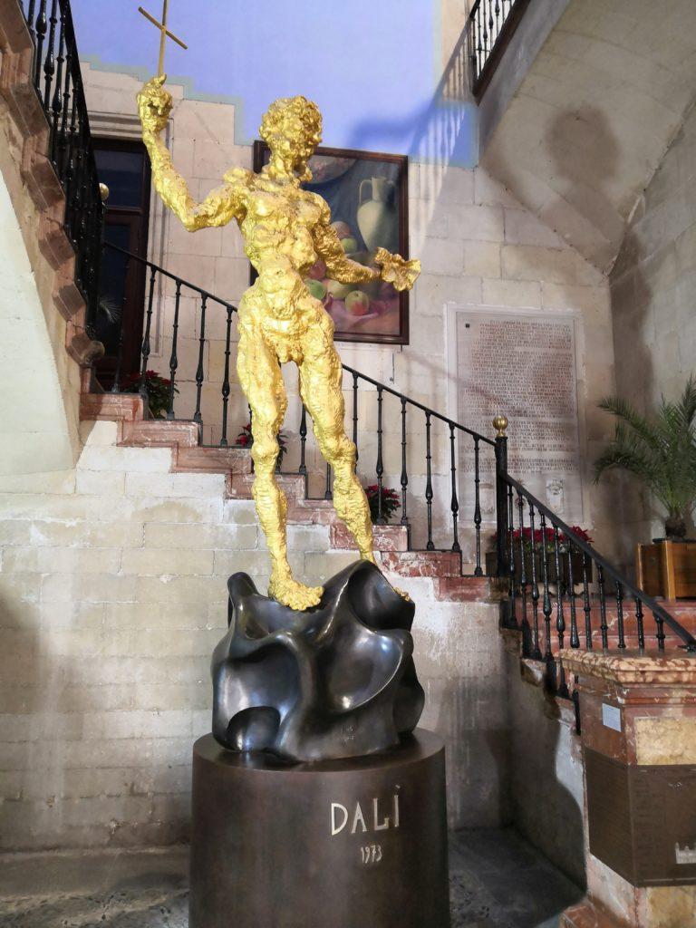 Skulptur von Dalí
