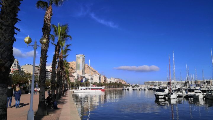 Yachthafen in Alicante