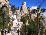 Zugang ins Dorf Guadalest