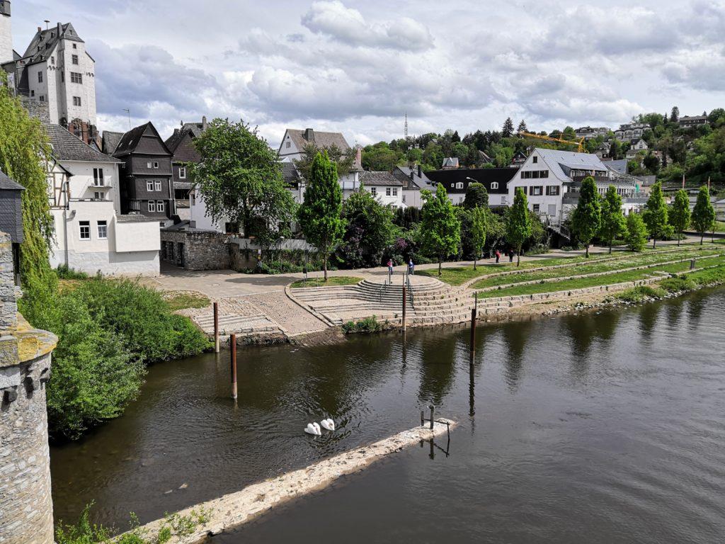 Lahnufer in Diez