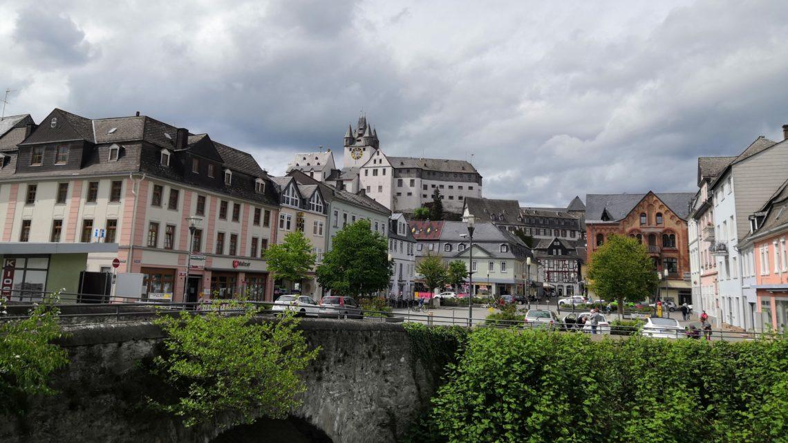 Marktplatz Diez an der Lahn